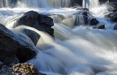 Photograph - Jasper Falls Closeup by Larry Ricker