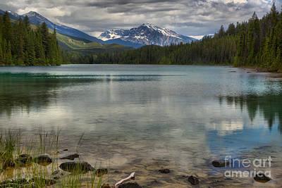 Photograph - Jasper Fifth Lake Reflections by Adam Jewell