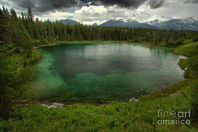 Photograph - Jasper Green Pool by Adam Jewell