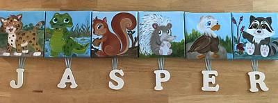 Animals Paintings - Jasper by Judy Jones