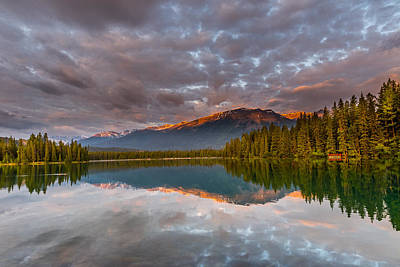Photograph - Jasper Lake by John Johnson