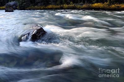 Photograph - Jasper - Maligne River by Terry Elniski