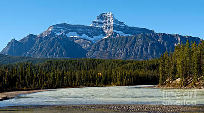 Photograph - Jasper - Mount Christie by Terry Elniski