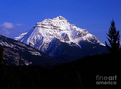 Photograph - Jasper - Mount Kerkeslin by Terry Elniski