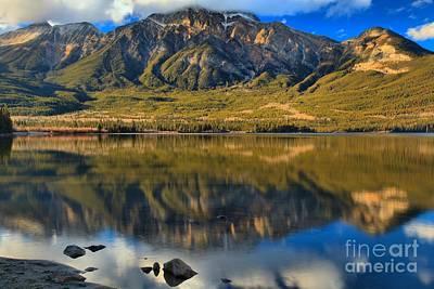 Photograph - Jasper Mountain Reflections by Adam Jewell