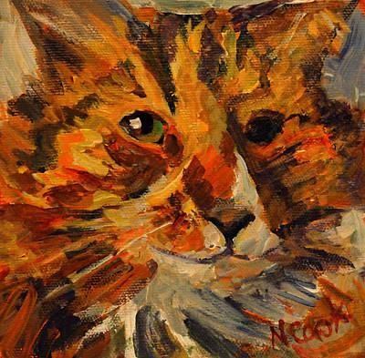 Painting - Jasper by Nanci Cook