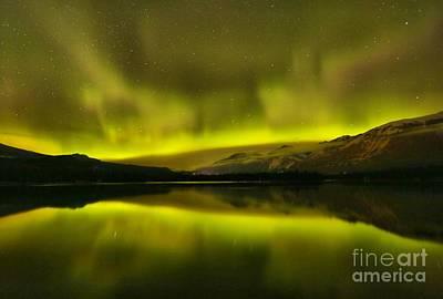 Photograph - Jasper Northern Lights by Adam Jewell