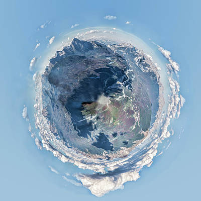 Photograph - Jasper Tiny Planet by Heather Applegate