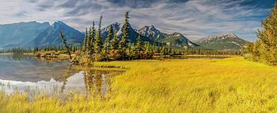 Photograph - Jasper Wetlands Panorama by Jim Dollar