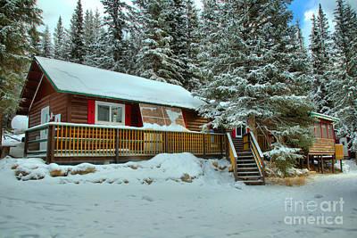 Photograph - Jasper Winter Lodging by Adam Jewell