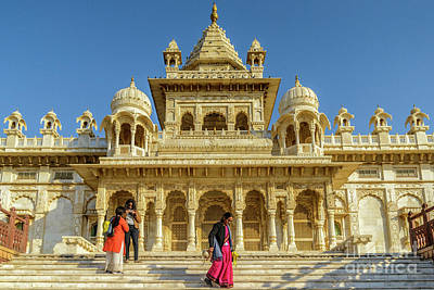 Photograph - Jaswant Thada 01 by Werner Padarin