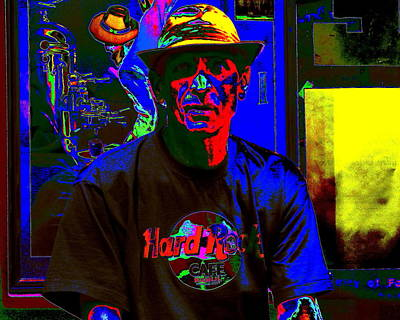 Digital Art - Java Man by Larry Beat