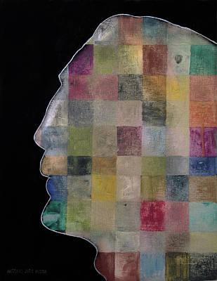 Ac - Dc Painting - Javier Bardem by Antonio Ortiz