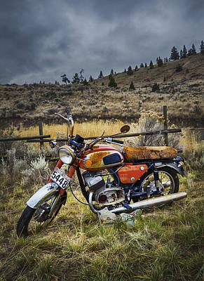 Jawa Photograph - Jawa Motorcycle by Theresa Tahara