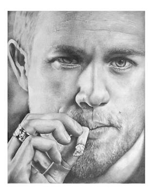 Jax Teller Art Print by Heather Andrewski