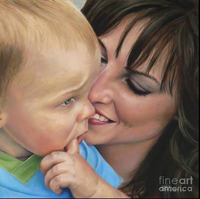 Painting - Jaxon's Love by Susan Thompson