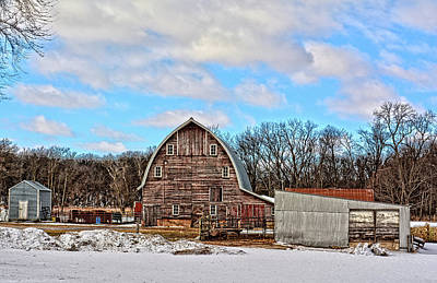 Photograph - Jay Avenue Farm by Bonfire Photography