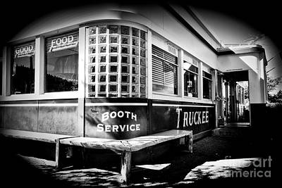 Photograph - Jax Diner, Truckee by Vinnie Oakes