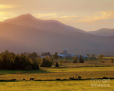 Photograph - Jay Peak Misty Sunset by Alan L Graham