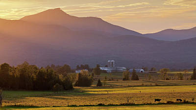 Photograph - Jay Peak September Sunset by Alan L Graham