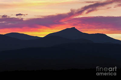 Photograph - Jay Peak Sunset by Alan L Graham