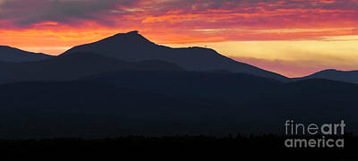 Photograph - Jay Peak Sunset Panorama by Alan L Graham