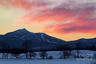 Photograph - Jay Peak Winter Twilight by Alan L Graham