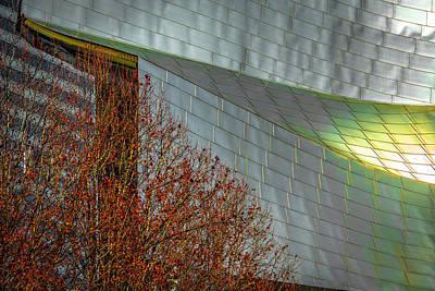Photograph - Jay Pritzker Pavilion Millennium Dsc5479 F254 by Raymond Kunst