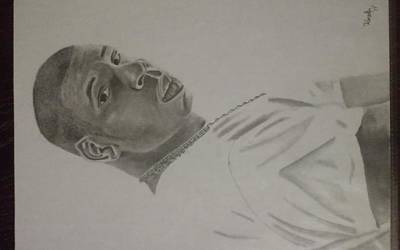 Jay Z Drawing - Jay Z by Loren Koska
