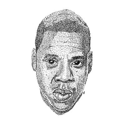Jay Z Drawing - Jay Z by Marcus Price