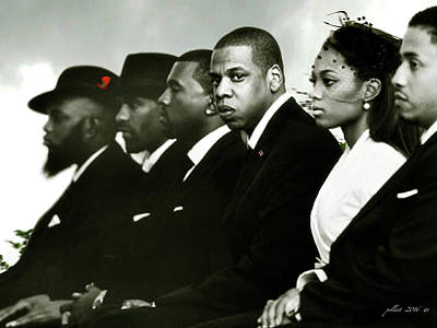 Jay Z Digital Art - Jay - Z by Thomas Pollart