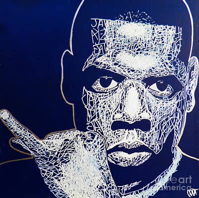 Jay Z Drawing - Jay-z by Visual Poet
