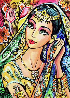 Painting - Jaya by Eva Campbell