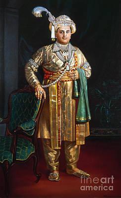 Painting - Jayachamaraja Wadiyar  by Granger