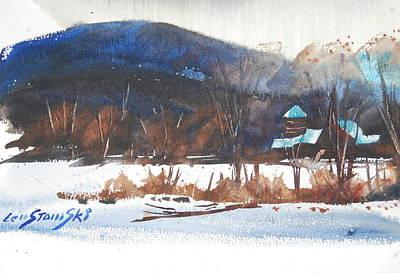 Painting - Jayko Farm Study by Len Stomski