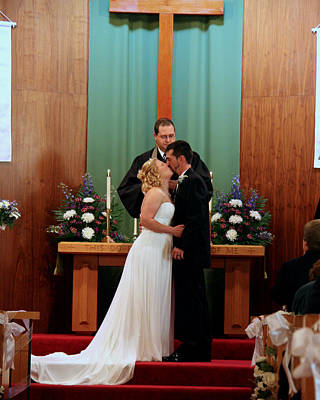 Photograph - Jayme Nick Wedding Sample 1 by George Jones