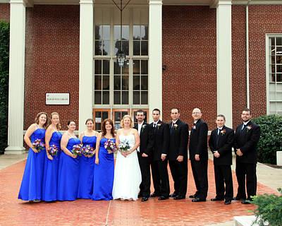 Photograph - Jayme Nick Wedding Sample 3 by George Jones