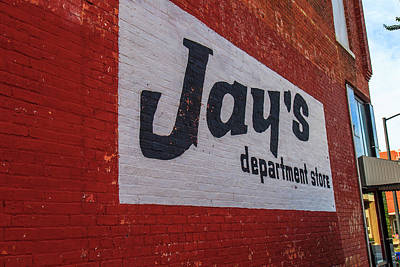 Photograph - Jay's Department Store by Doug Camara