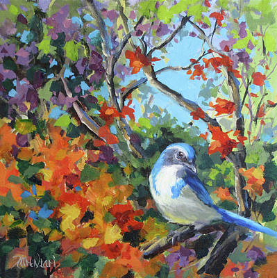 Painting - Jay's World by Karen Ilari