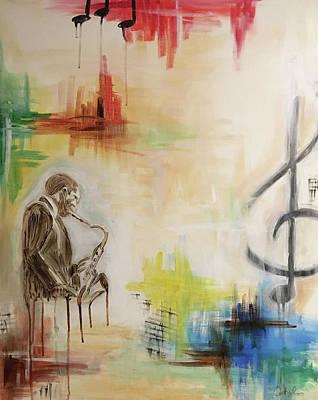 Jazz 002 Art Print