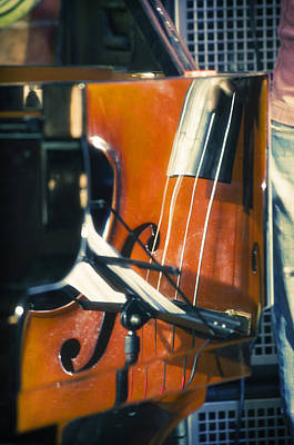 Double Bass Photograph - Jazz Abstraction by Konstantin Sevostyanov