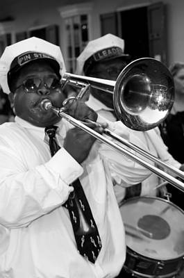 Marching Band Photograph - Jazz Band by Bourbon  Street