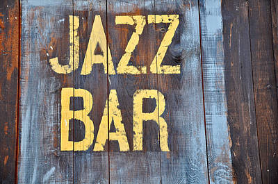 Photograph - Jazz Bar by Keith Sanders