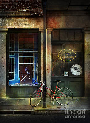Photograph - Jazz Bicycle by Craig J Satterlee