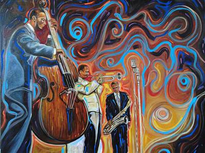 Painting - Jazz Brother  by Emery Franklin