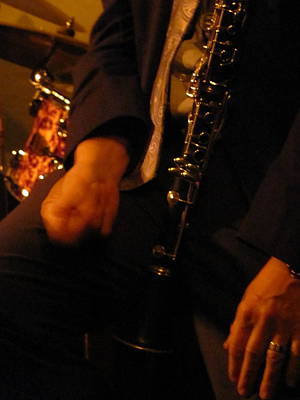 Photograph - Jazz Clarinet by Anita Burgermeister