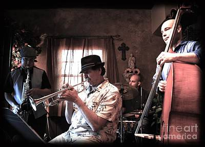 Live Jazz Quartet Photograph - Jazz Club by Matthew Heller
