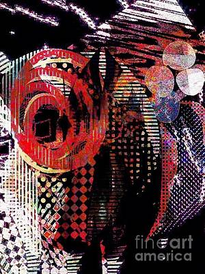 Digital Art - Jazz by Cooky Goldblatt