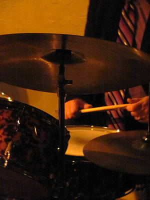 Photograph - Jazz Drums by Anita Burgermeister