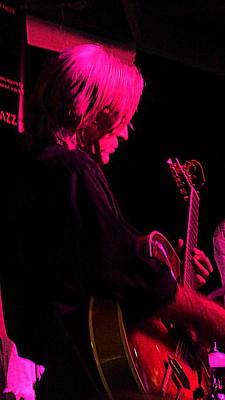 Photograph - Jazz Guitarist by Lori Seaman